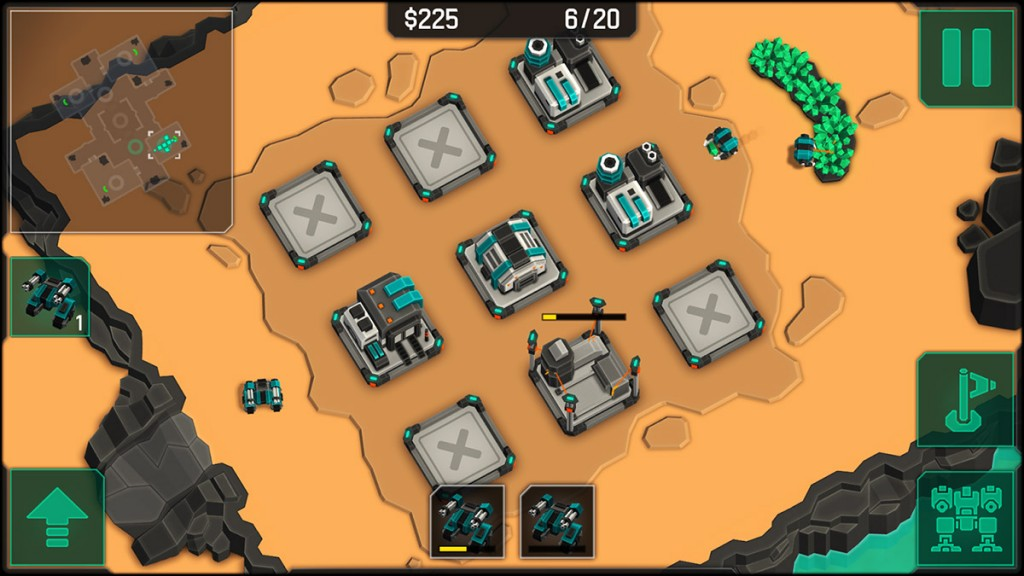 Wage war over scarce minerals in MechCom 2 – a 3D RTS game now available on Google Play