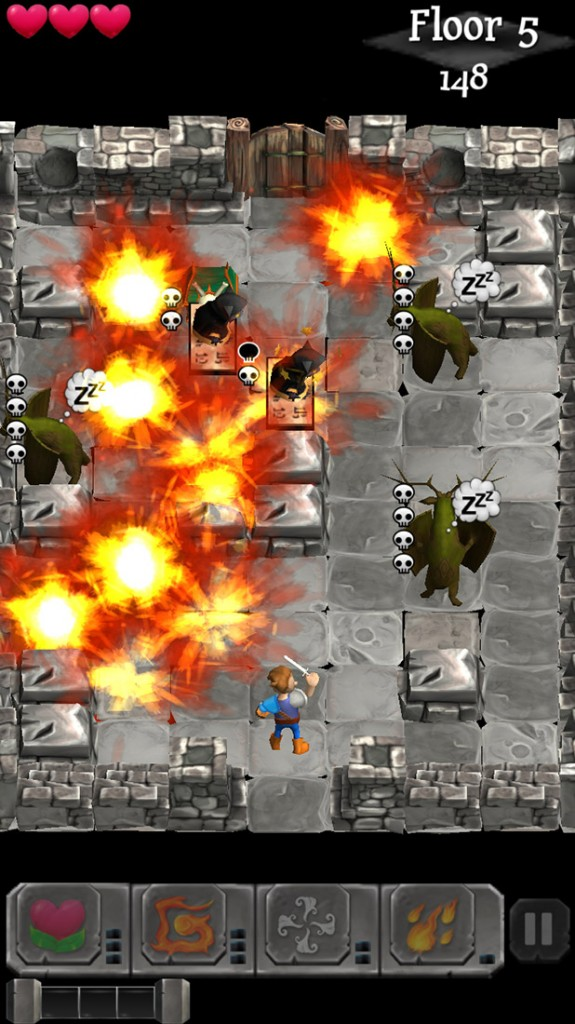 Turn-based dungeon crawler Dungenious will be landing on Android next week