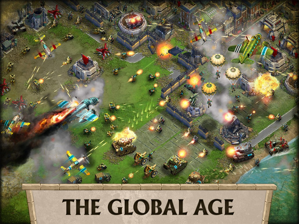 DomiNations receives an update as part of its 1-year anniversary called the Global Age