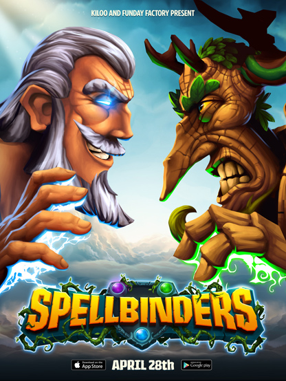 Spellbinders is Kiloo's latest game and it is coming to Android soon