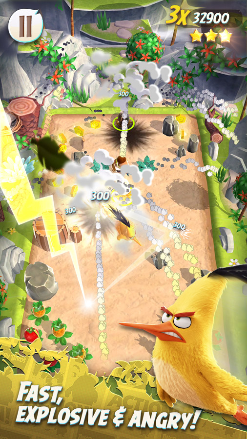 Rovio soft launches their newest entry into their Angry Birds franchise called Angry Birds Action!