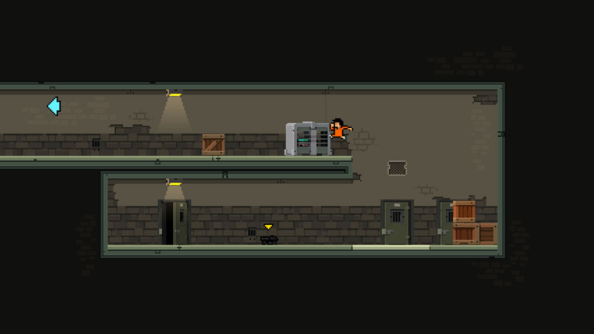 [Update: Released] Escape prison in the upcoming game Prison Run and Gun, arriving next month on Android
