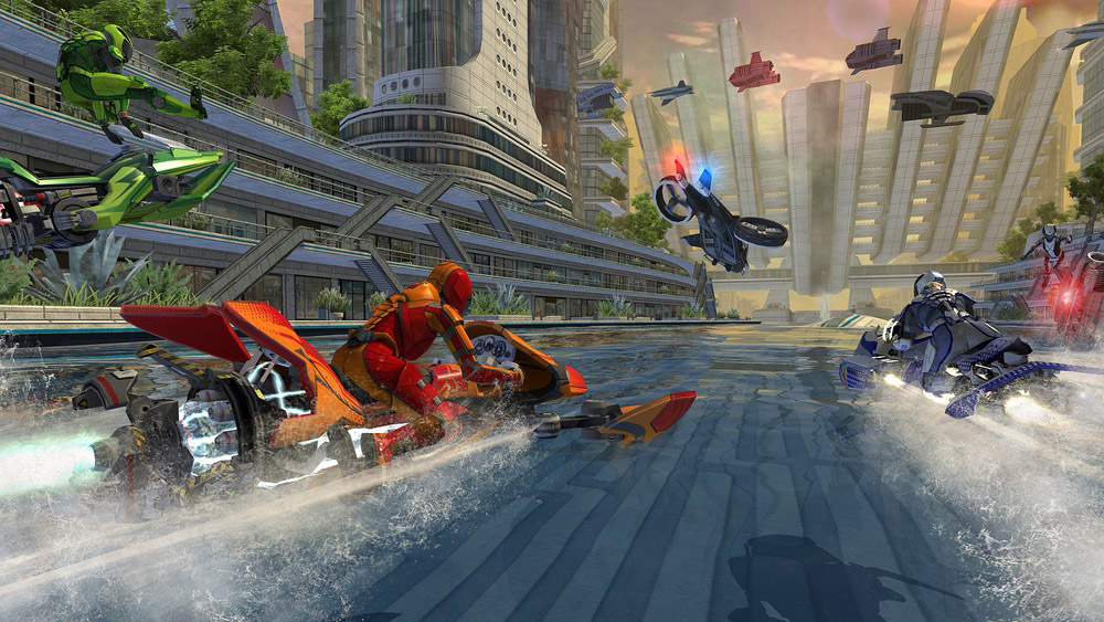 Vector Unit reveals that their great looking Riptide GP: Renegades title is finally arriving this Spring