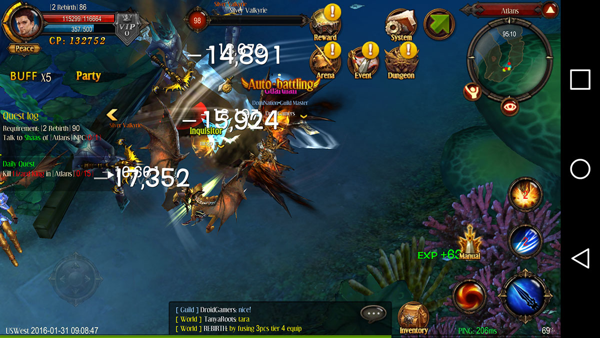Webzen's mobile MMORPG called MU: Origin soft launches today in Canada and Ireland
