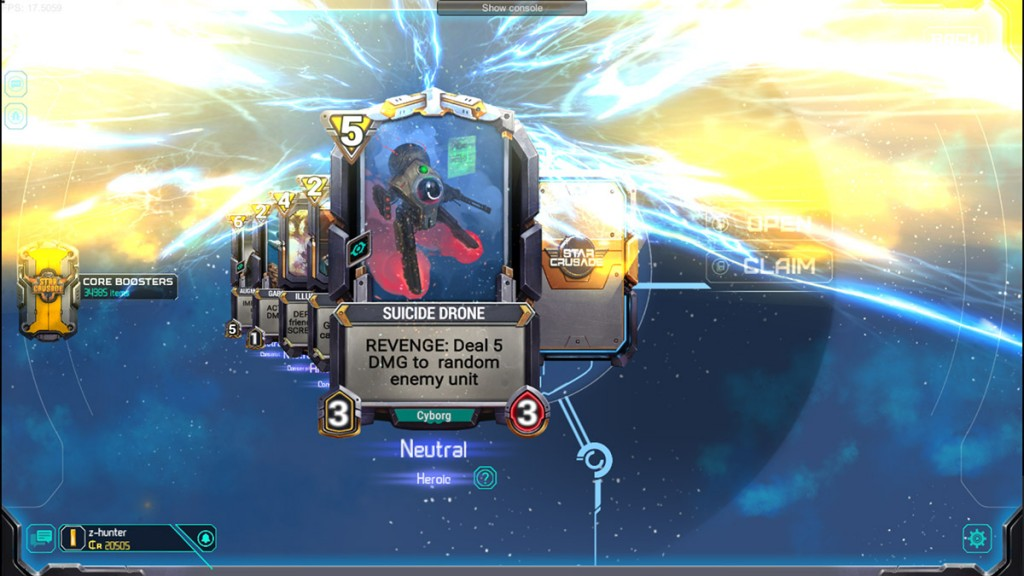 Star Crusade is an upcoming cross-platform Sci-Fi themed CCG for Android