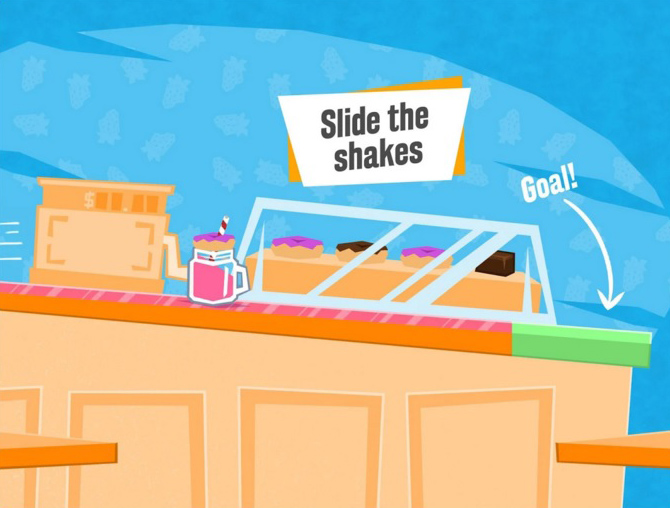 Slide the Shakes from PrettyGreat is available in the Play Store