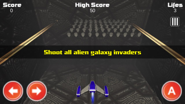 Fend off waves of invading aliens in Galaxy Invader 3D, now out for Google Play