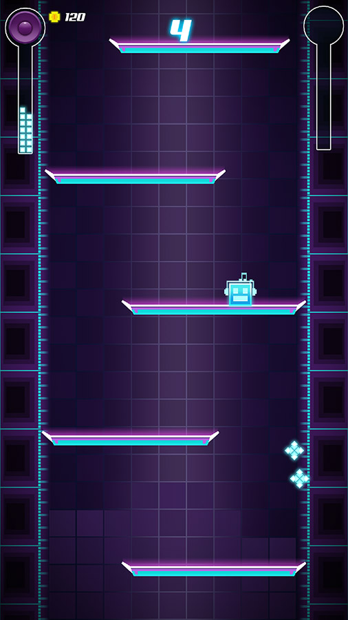 See how high you can keep your character jumping in Beat Jump, now out in Google Play