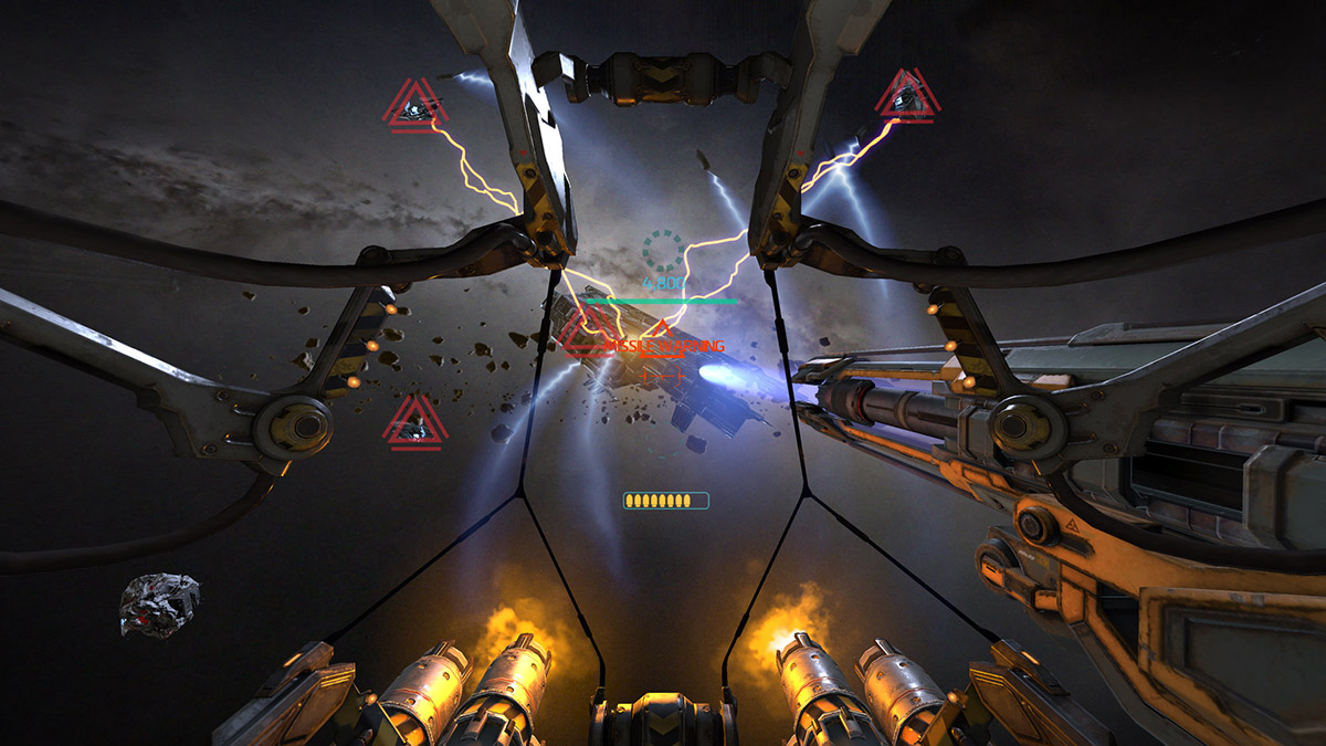 Gunjack will be making the leap from the Gear VR to the Oculus Rift and HTC Vive