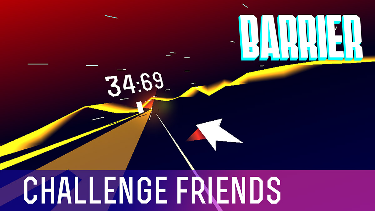 Barrier X is a new flying reflex arcade game from Noclip Games