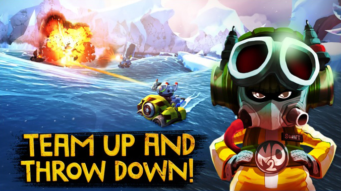 Rovio's latest game Battle Bay has soft launched in select regions