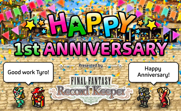 Square Enix begins celebrating Final Fantasy: Record Keeper turning 1yr old with events and giveaways