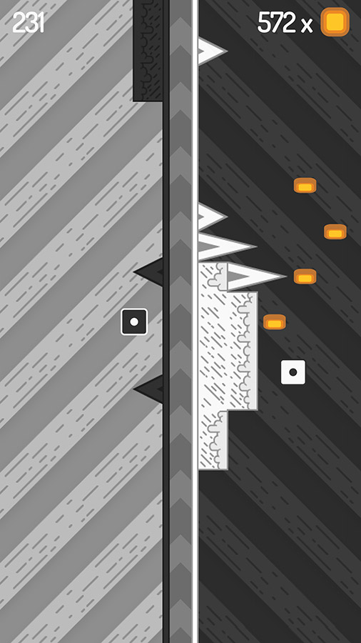 FlipSide is a new arcade game that has you controlling two character at once
