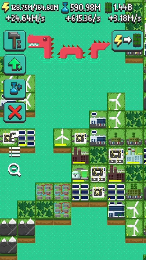 Reactor – Energy Sector Tycoon is all about making money even when not playing