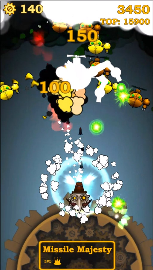 Kings of Steam is another arcade shooter that's now available for download