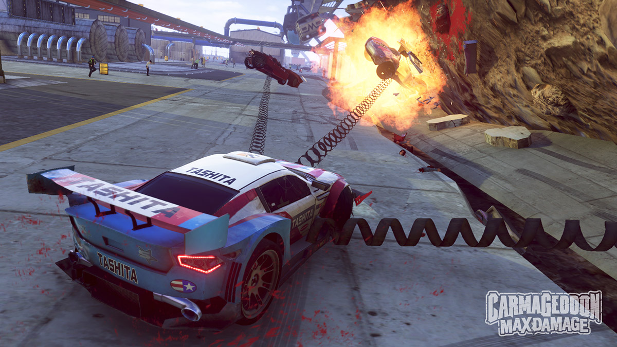 The upcoming Carmageddon: Max Damage game will be getting a mobile companion called Carmageddon Crashers