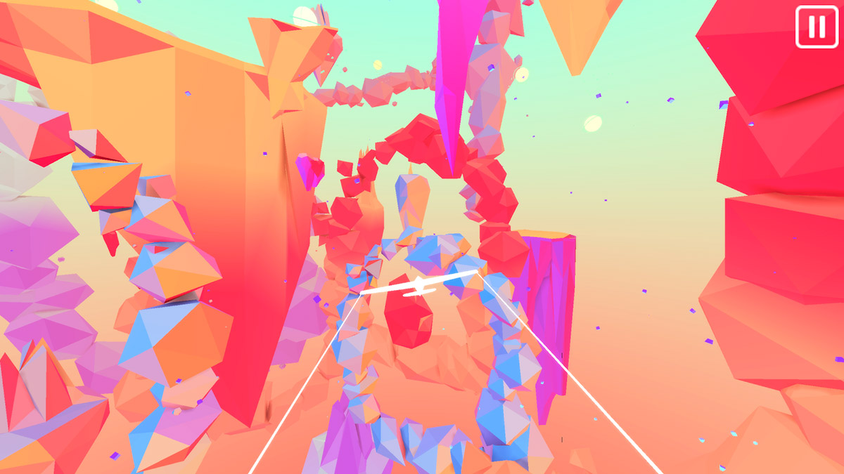 Glyde is a new bright and colorful flying arcade game for Android devices