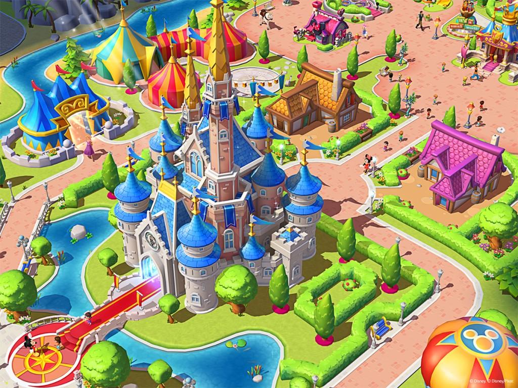 Gameloft begins teasing their upcoming Disney Magic Kingdoms theme park game