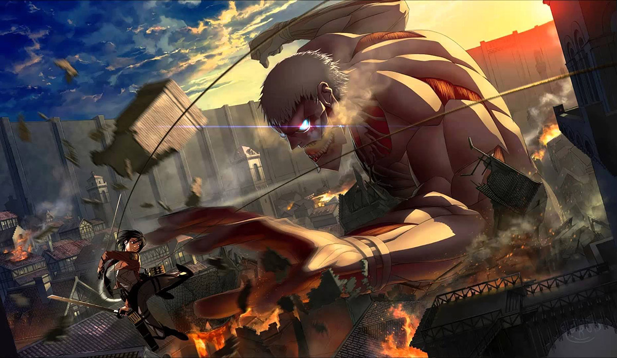 Funimation Entertainment reveals the release time frame for the official Attack On Titan mobile game