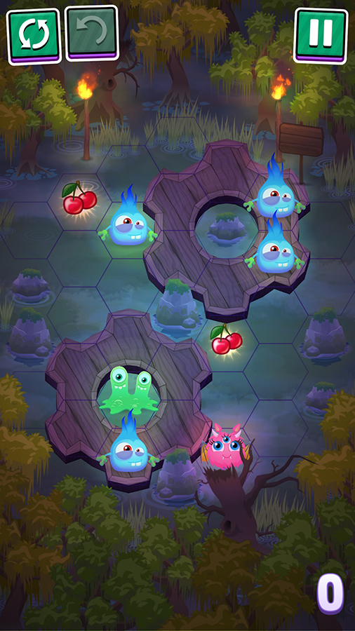 MHGames will be launching their new puzzler Oddhop later this Spring