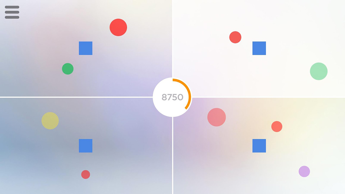 [Update: New Features] Quadrant is a new minimalistic arcade game from errorsevendev on Android