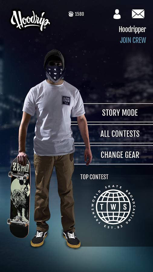 Hoodrip Skateboarding from ArcticPlay Studios skates its way onto Google Play this morning