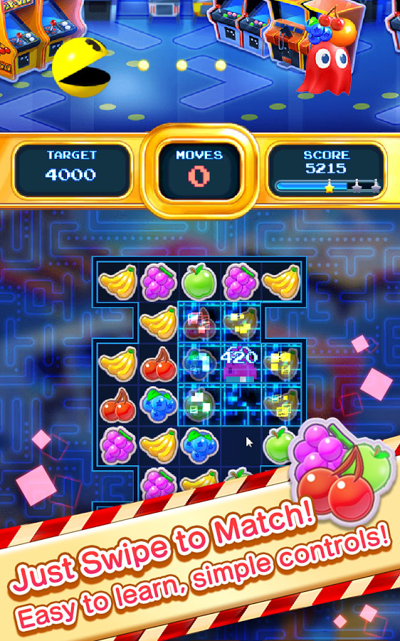 Bandai Namco releases Pac-Man Puzzle Tour onto Android today