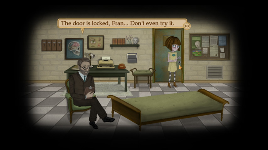 Popular dark point-and-click adventure game Fran Bow jumps onto Android devices