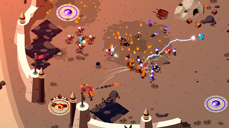 C4M and En Masse Entertainment's upcoming RTS game called Battleplans will finally get released soon onto Android