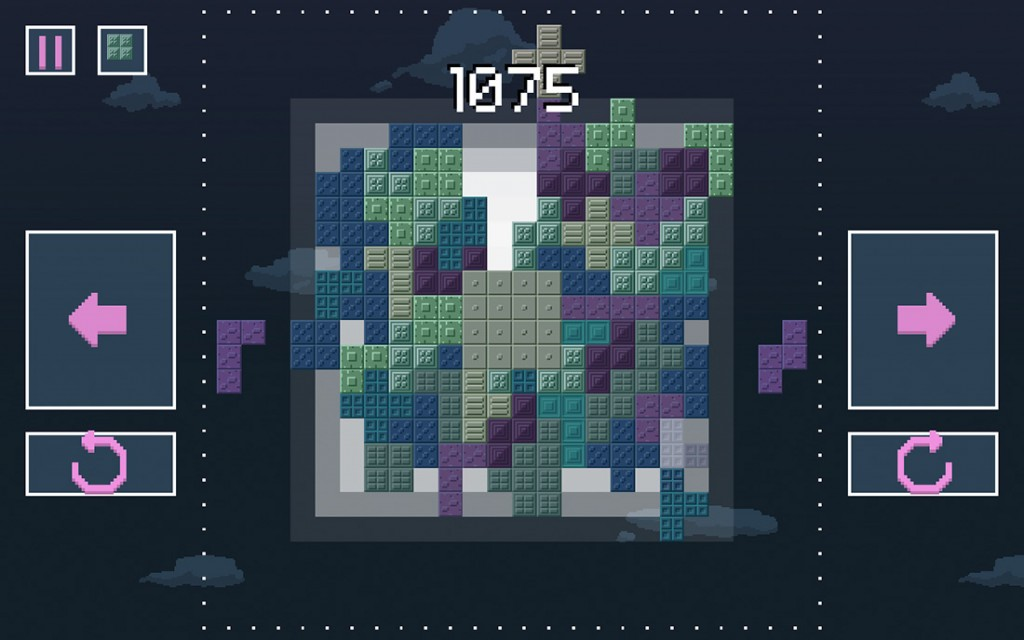 Cumulus from Twisted Legacy Productions is a crazy new Tetris spin-off game
