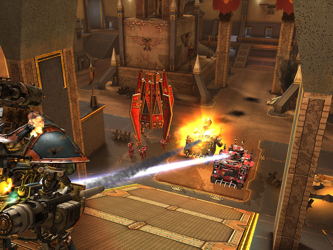 [Update: Game Released] Games Workshop and Pixel Toys team up and announce Warhammer 40K: Freeblade for Android