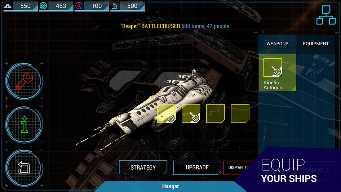 Into The Void is a new space-themed strategy-RPG for mobile devices