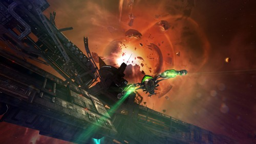 Deep Silver FISHLABS officially announces the third installment into their Galaxy On Fire franchise called Manticore