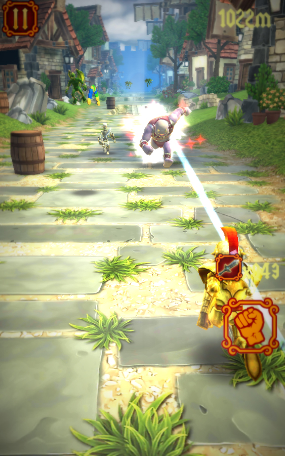 Catfishblues Games releases Brave Knight Rush onto Google Play
