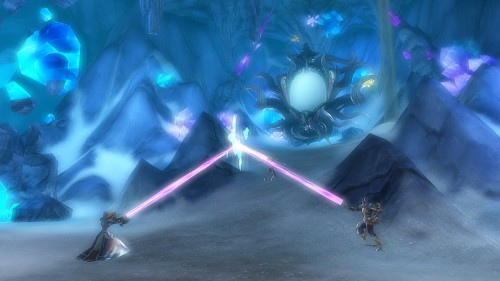 Gameloft shows off the first gameplay for their upcoming MMORPG Order & Chaos 2: Redemption