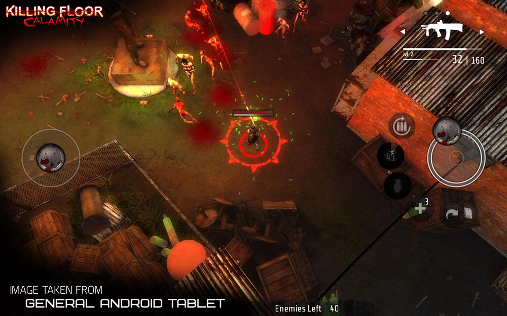 Nvidia releases two new games for their Shield brand of devices: Killing Floor: Calamity and Windward