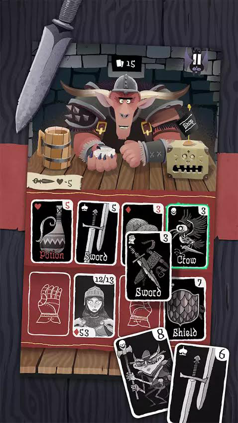 Clear out dangerous dungeons in new card-based Card Crawl