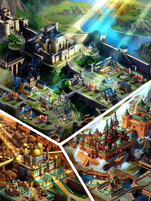 [UPDATE: Game Released] Gameloft announces March of Empires, a new multiplayer strategy game for mobile